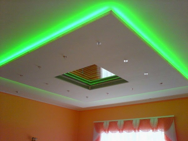 lights in living room ceiling photo - 9