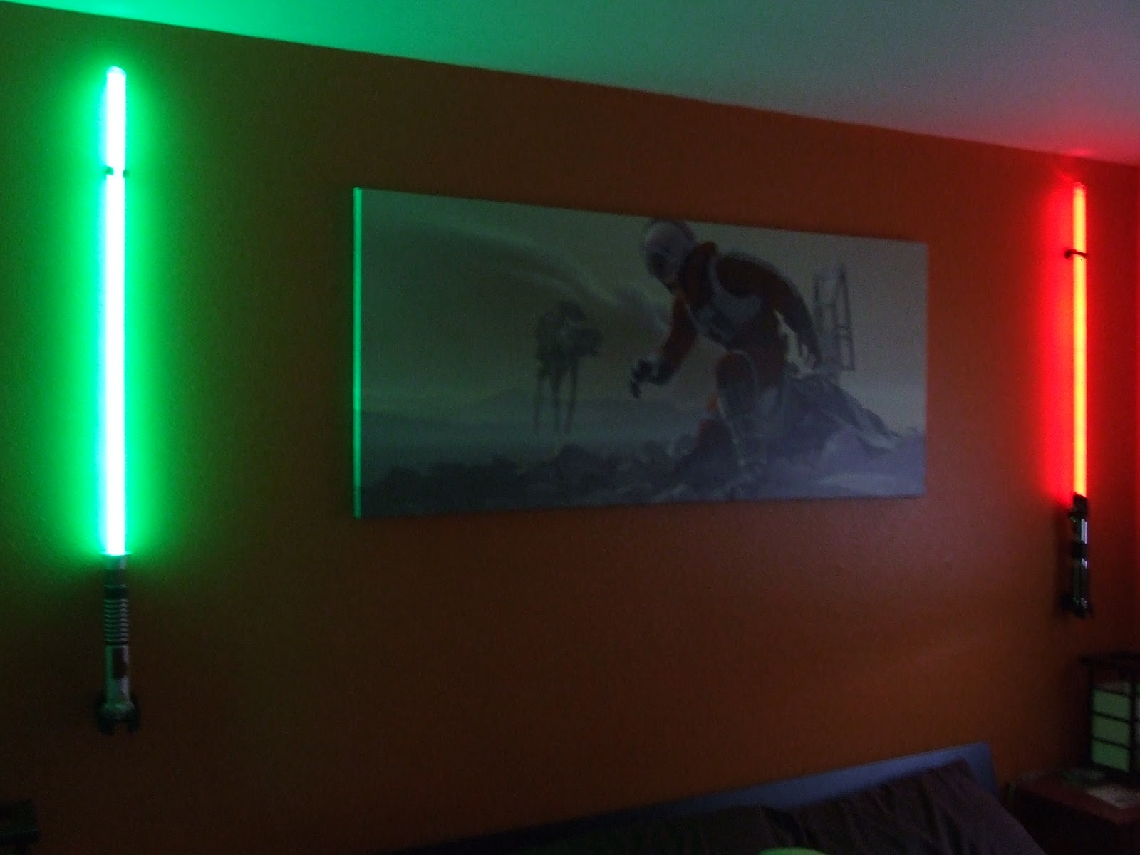 Lightsaber Wall Lights May The Force Of Light Be With