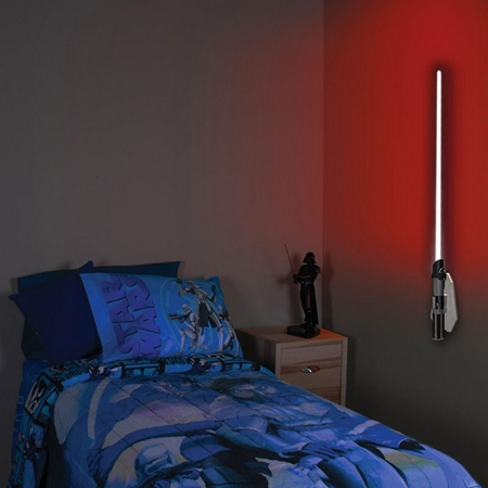 lightsaber wall lights photo - 5
