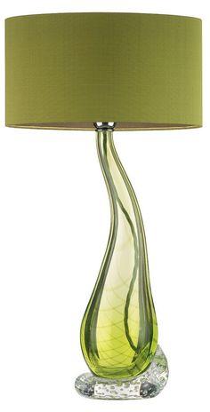 Lime Table Lamp: lime green lamps photo - 1,Lighting
