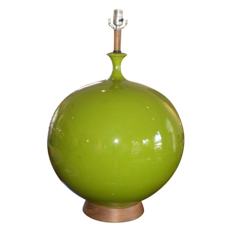 Lime Table Lamp: lime green table lamp photo - 3,Lighting