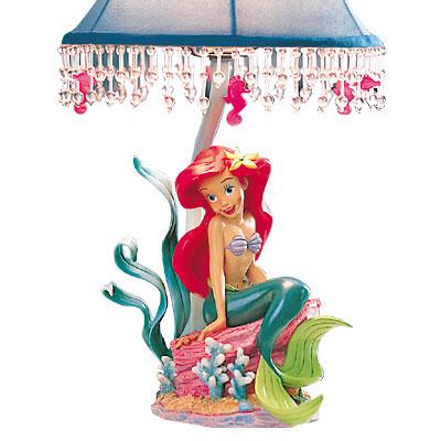 little mermaid lamp photo - 1