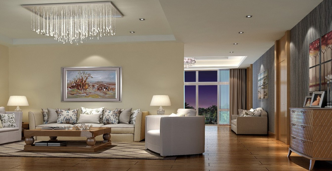 living room ceiling light ideas photo - 5