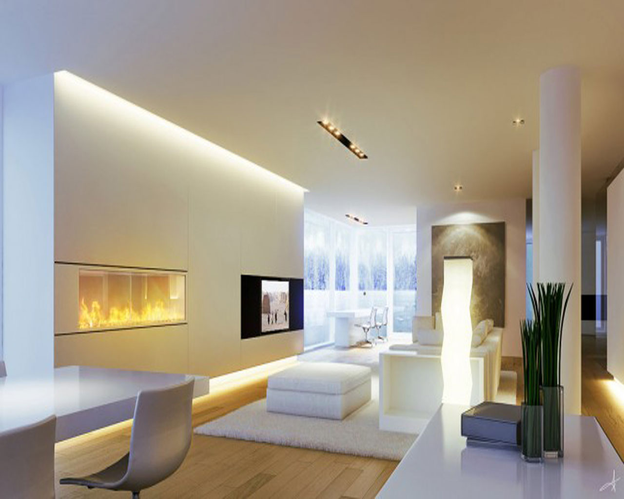 living room ceiling light ideas photo - 9