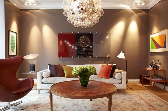 living room ceiling light shades photo - 3