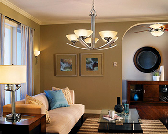 Living Room Ceiling Lights Ideas Photo