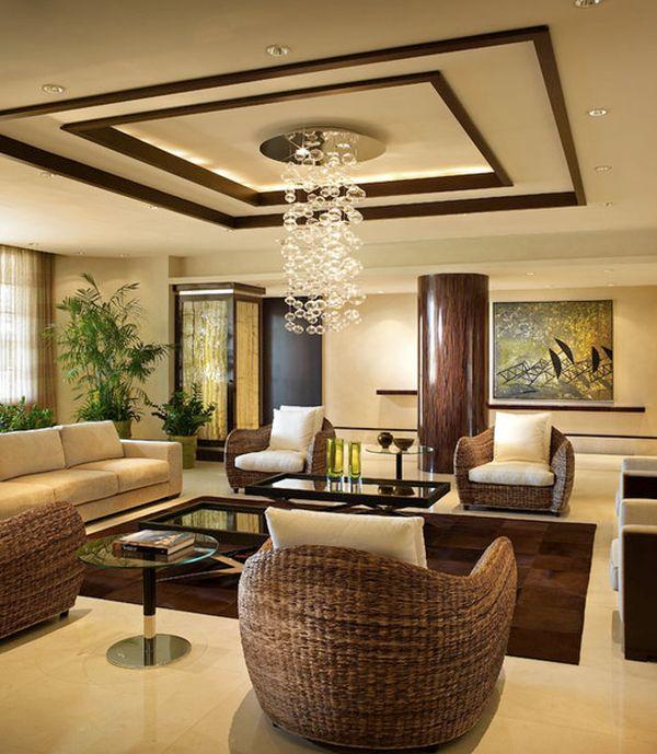 living room ceiling lights modern photo - 8