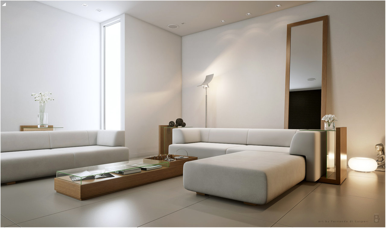 living room floor lamps photo - 8