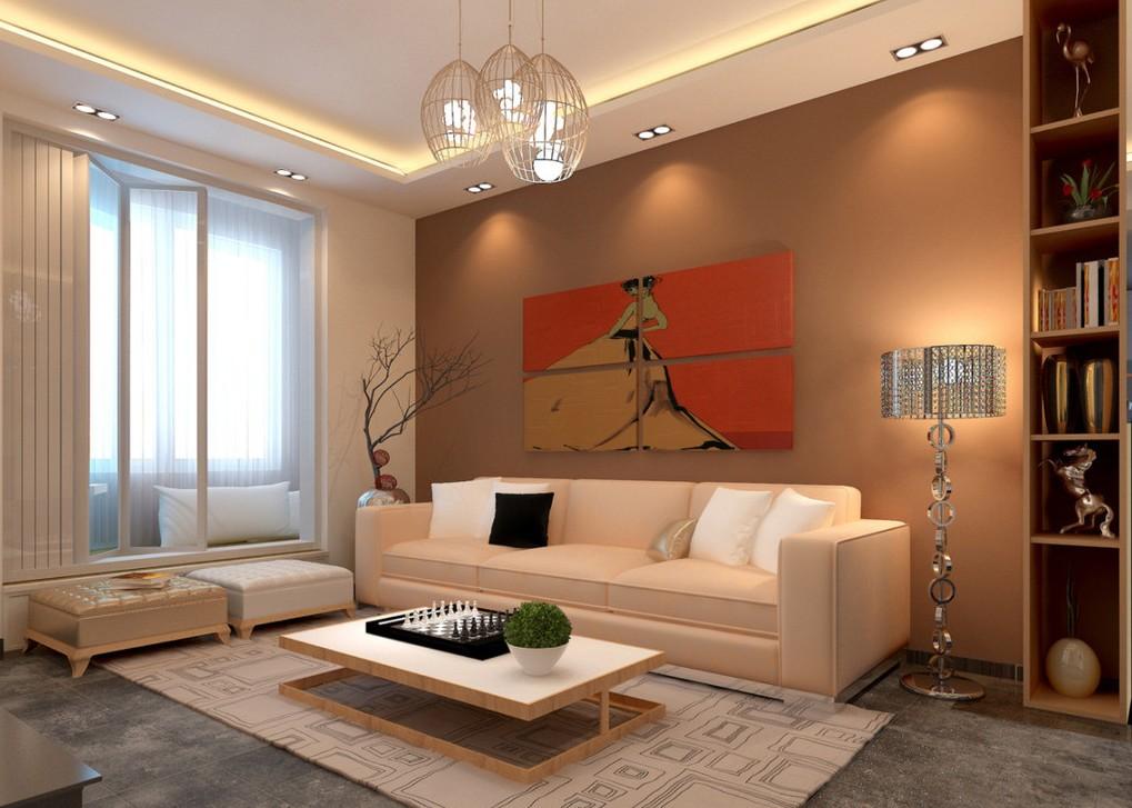 living room floor lamps photo - 9