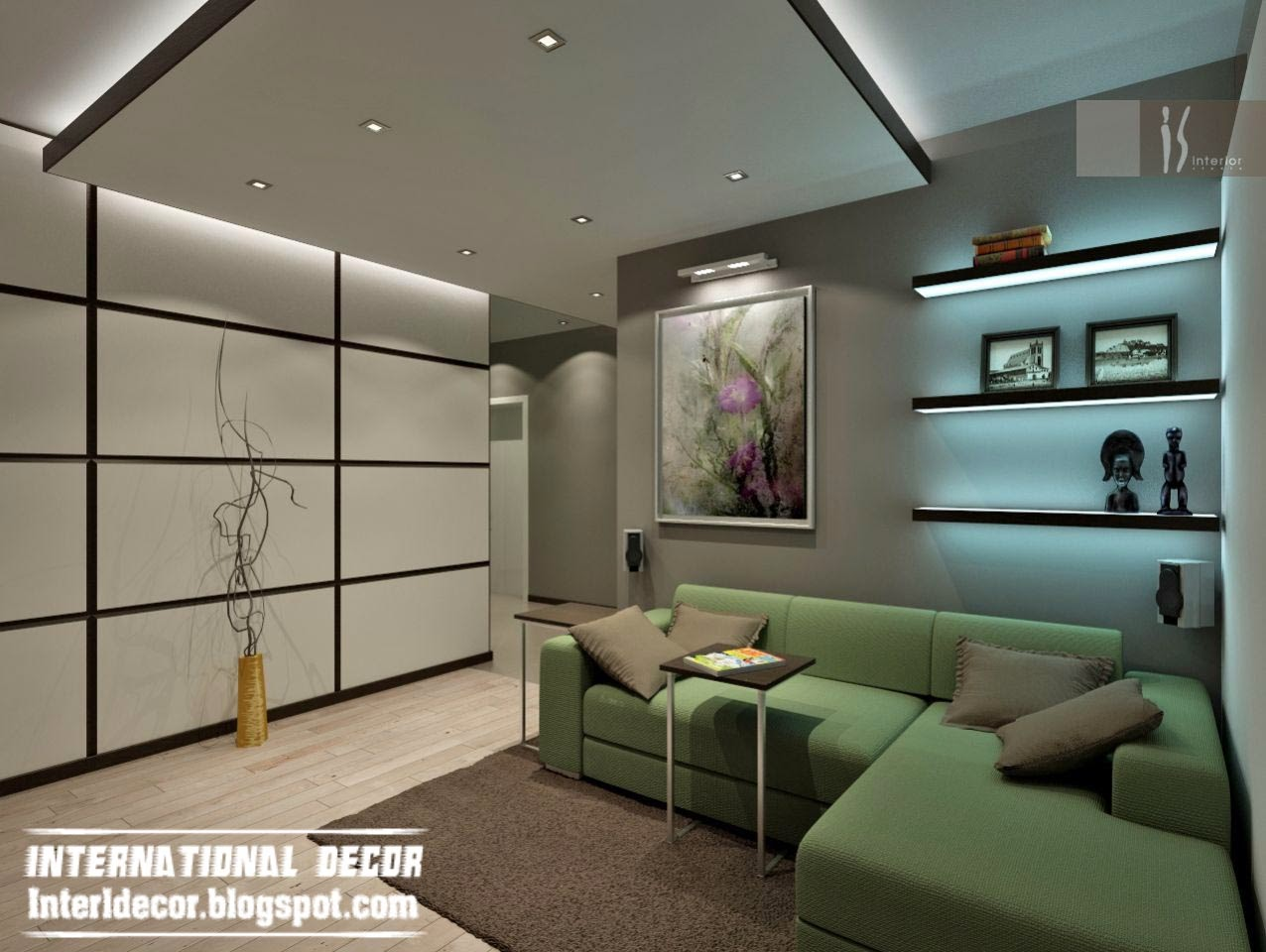 Living room led ceiling lightsWarisan Lighting