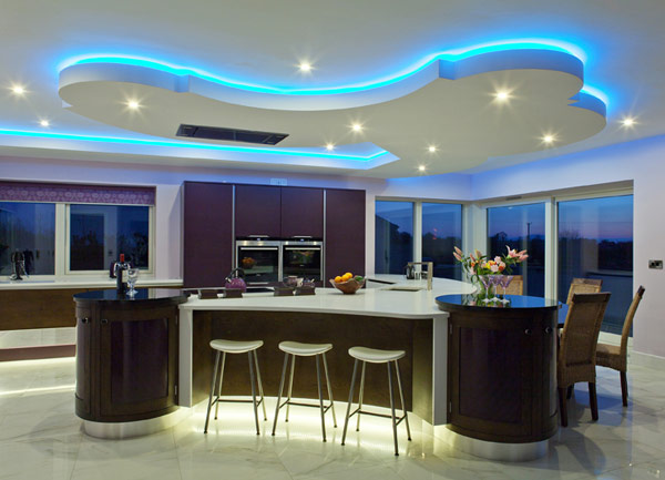 living room led ceiling lights photo - 4