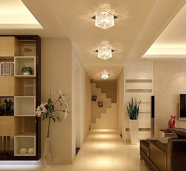 living room led ceiling lights photo - 9