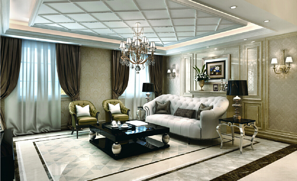 living room table lamps photo - 6