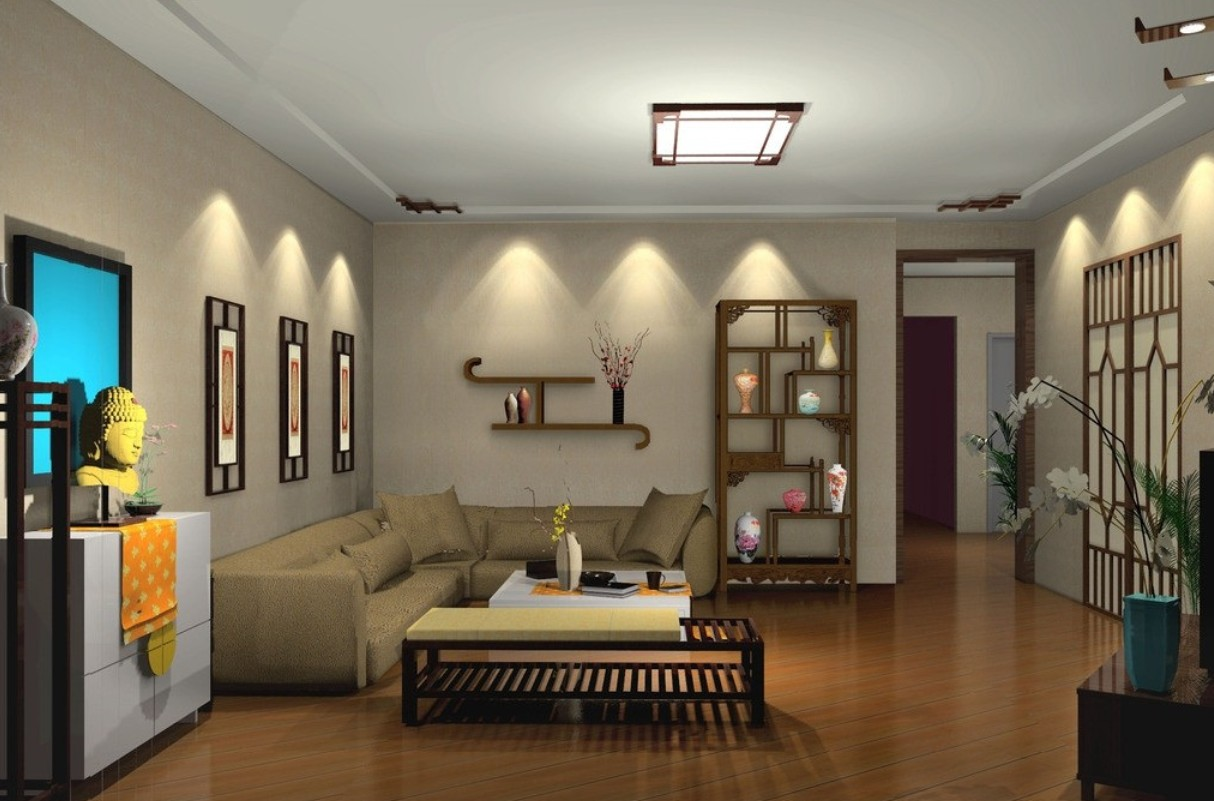 Add comfort to your living room using living room wall for Living room light fixtures