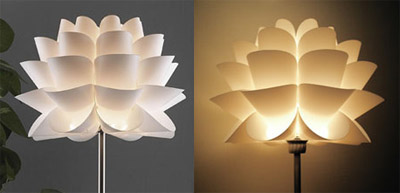 lotus flower lamp photo - 1