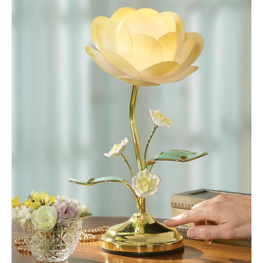 lotus flower lamp photo - 3