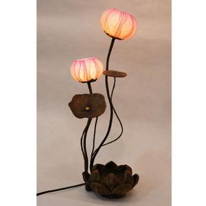 lotus table lamp photo - 1