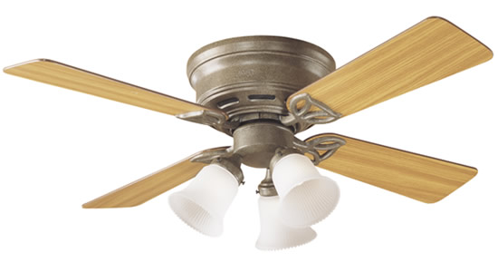 low profile ceiling fan light photo - 1