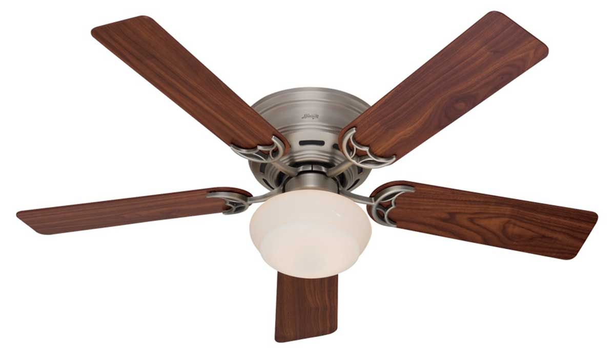 low profile ceiling fan light photo - 4
