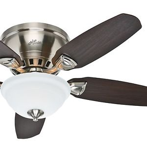 low profile ceiling fan light photo - 9