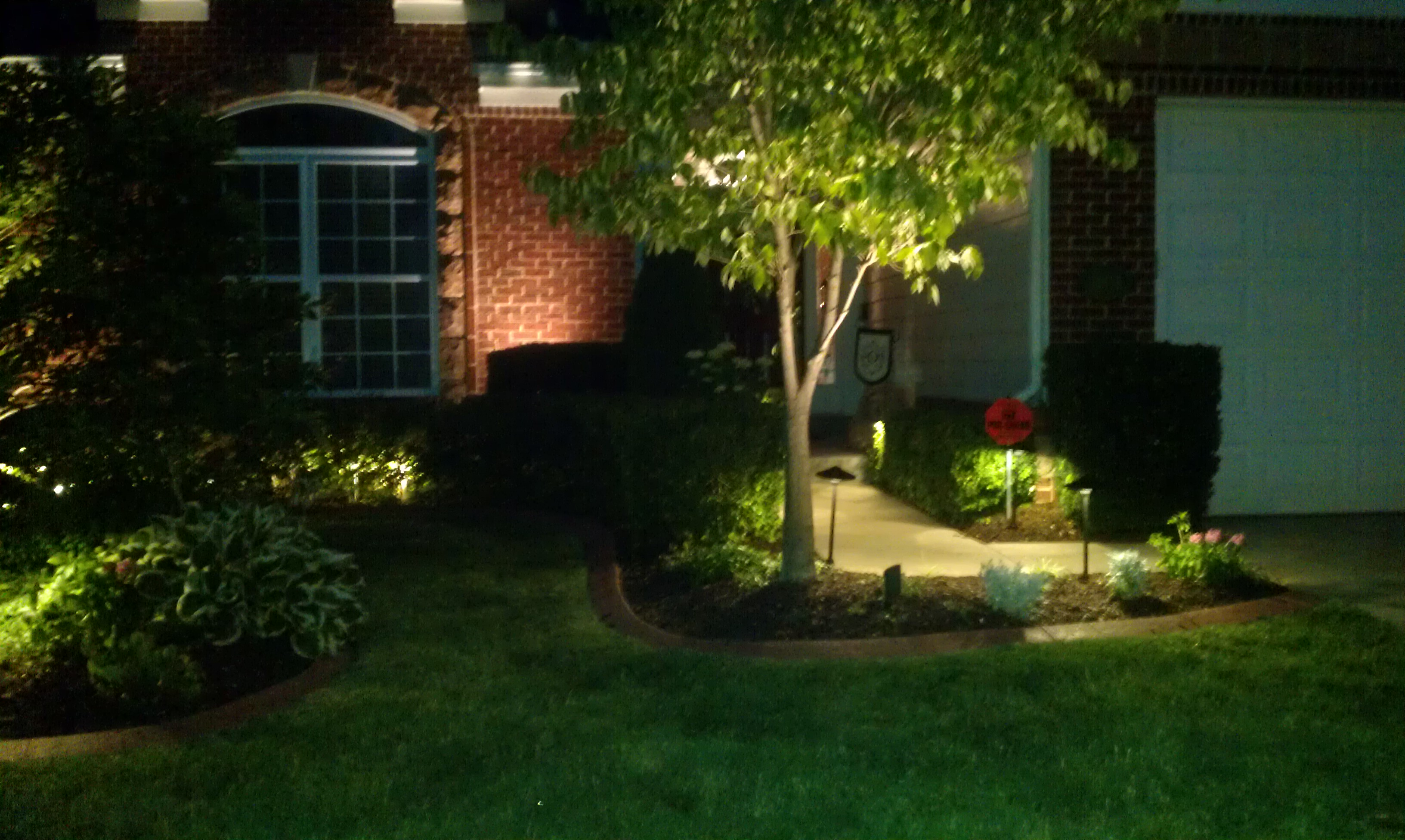 Voltage Drop Formula For Landscape Lighting : Image gallery low voltage outdoor lighting