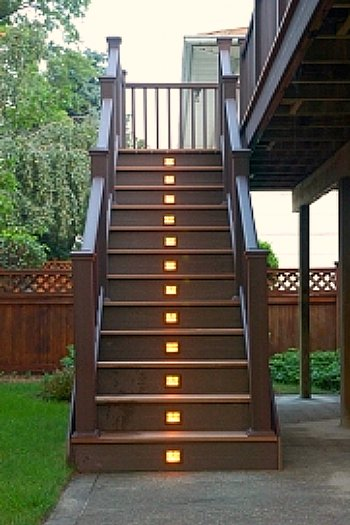 Low Voltage Step Lights Outdoor: Low Voltage Outdoor Step Lighting Photo 3,Lighting