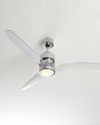 lucite ceiling fan photo - 3