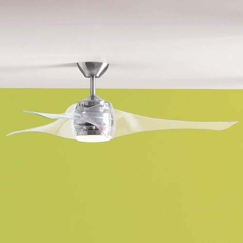 lucite ceiling fan photo - 5