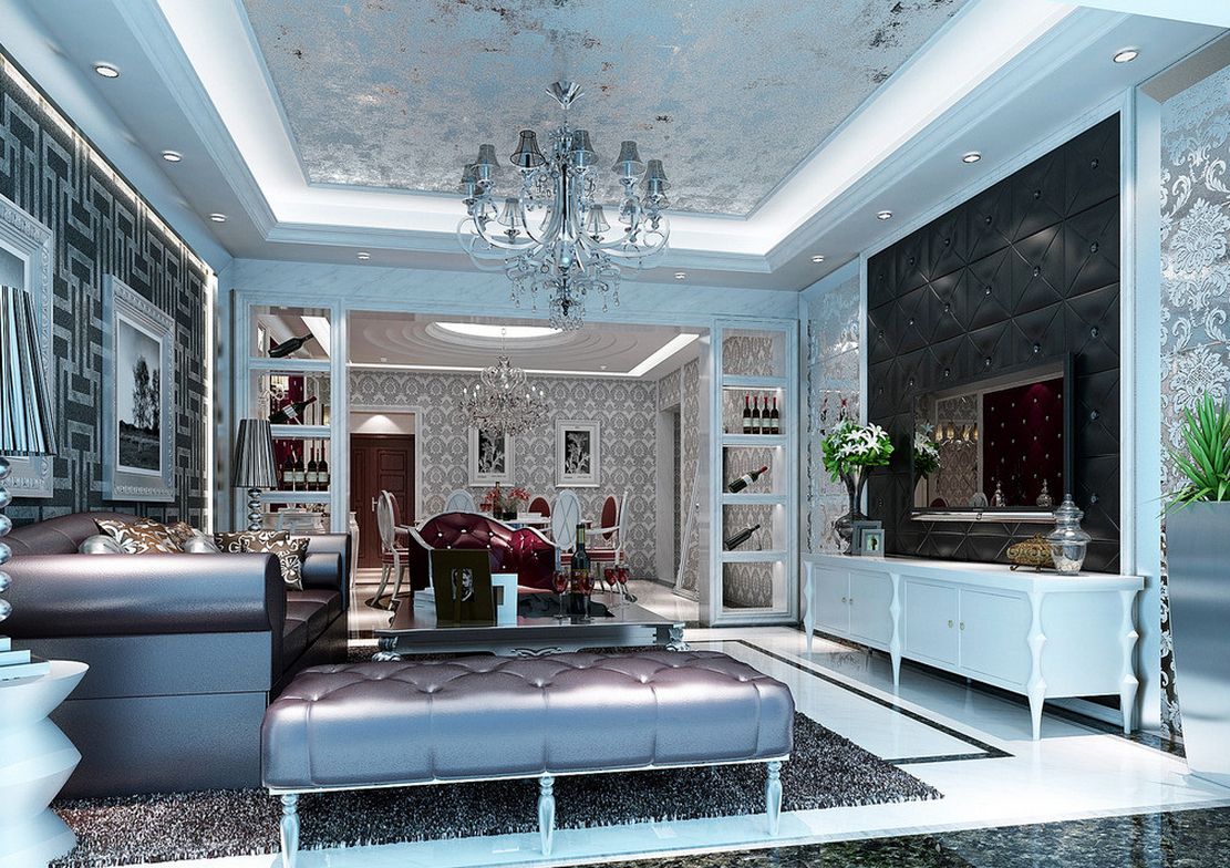luxury ceiling lights photo - 4