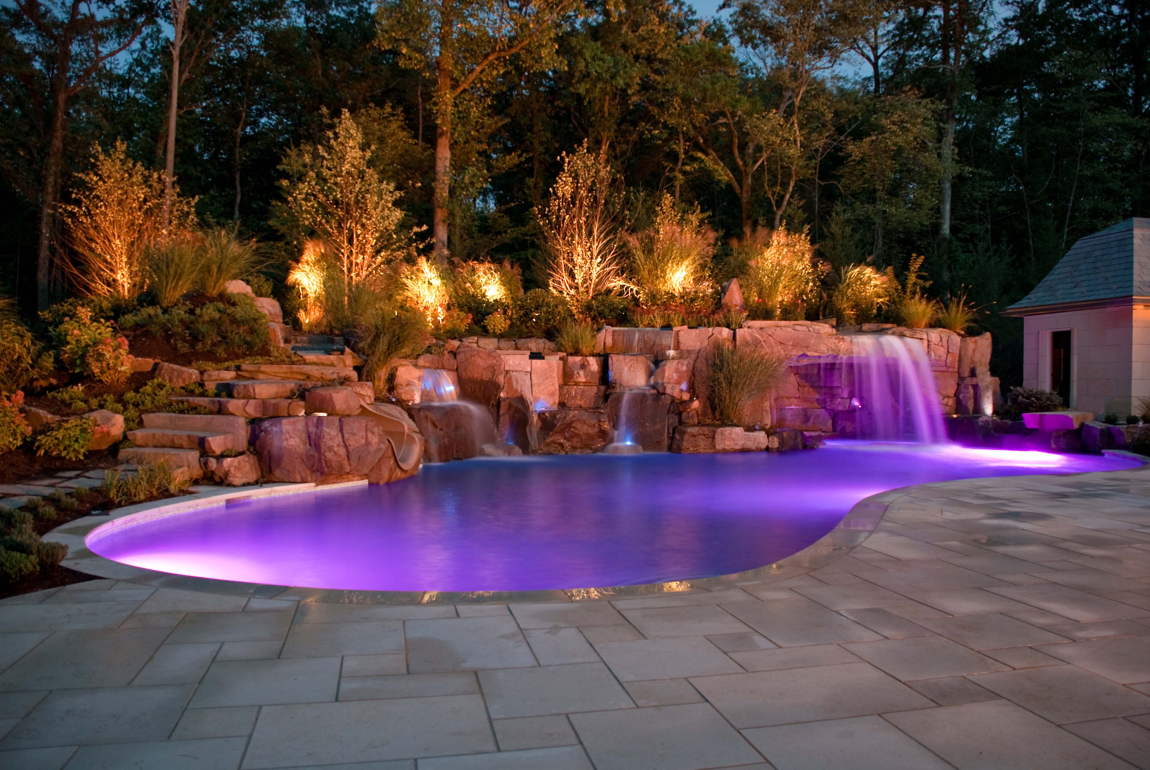 luxury outdoor lighting photo - 7