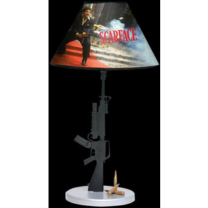 machine gun lamp photo - 2