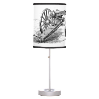 machine gun lamp photo - 3