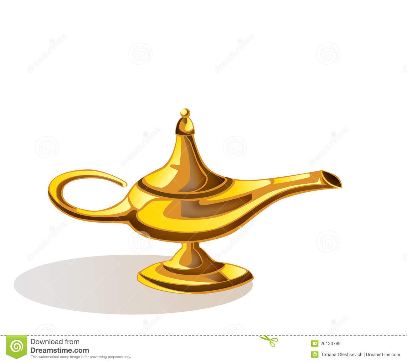magic lamp aladdin photo - 1