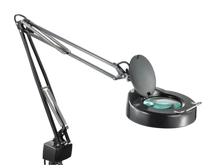 Magnifying glass lamp with light – Desk Lamps with Magnifying Glass