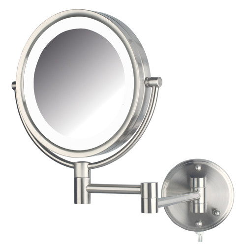 makeup mirror with lights wall mounted photo - 9