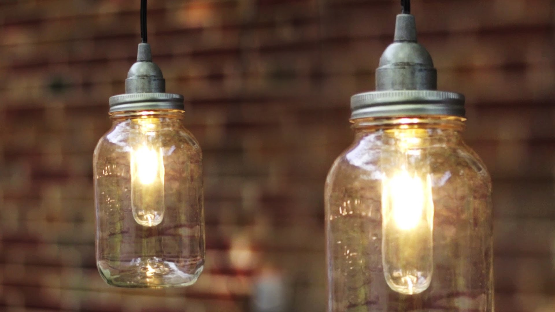mason jar lamp diy photo - 3