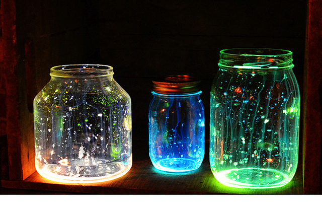 mason jar lamp diy photo - 6