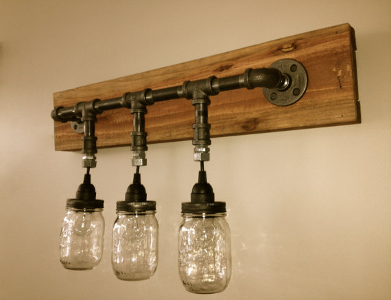 mason jar lamps photo - 4