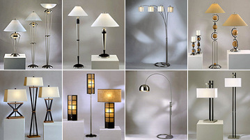 Matching Floor And Table Lamps Photo