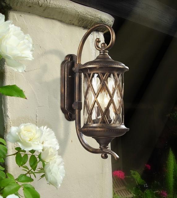mediterranean outdoor lighting photo - 1