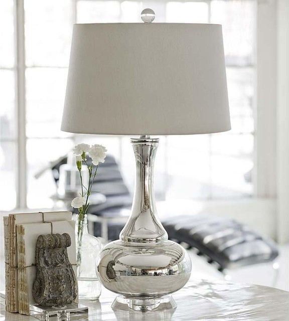 mercury glass lamps photo - 1