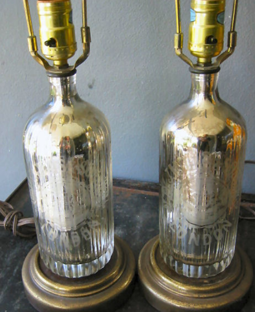 mercury glass lamps photo - 3
