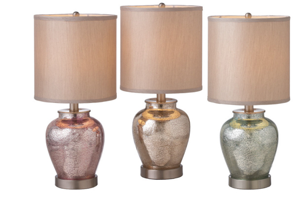 mercury glass table lamps photo - 5