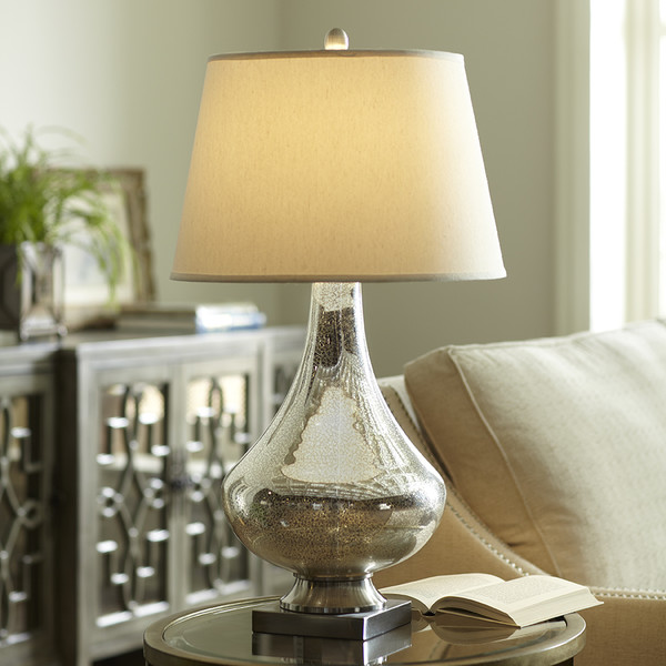 mercury glass table lamps photo - 9