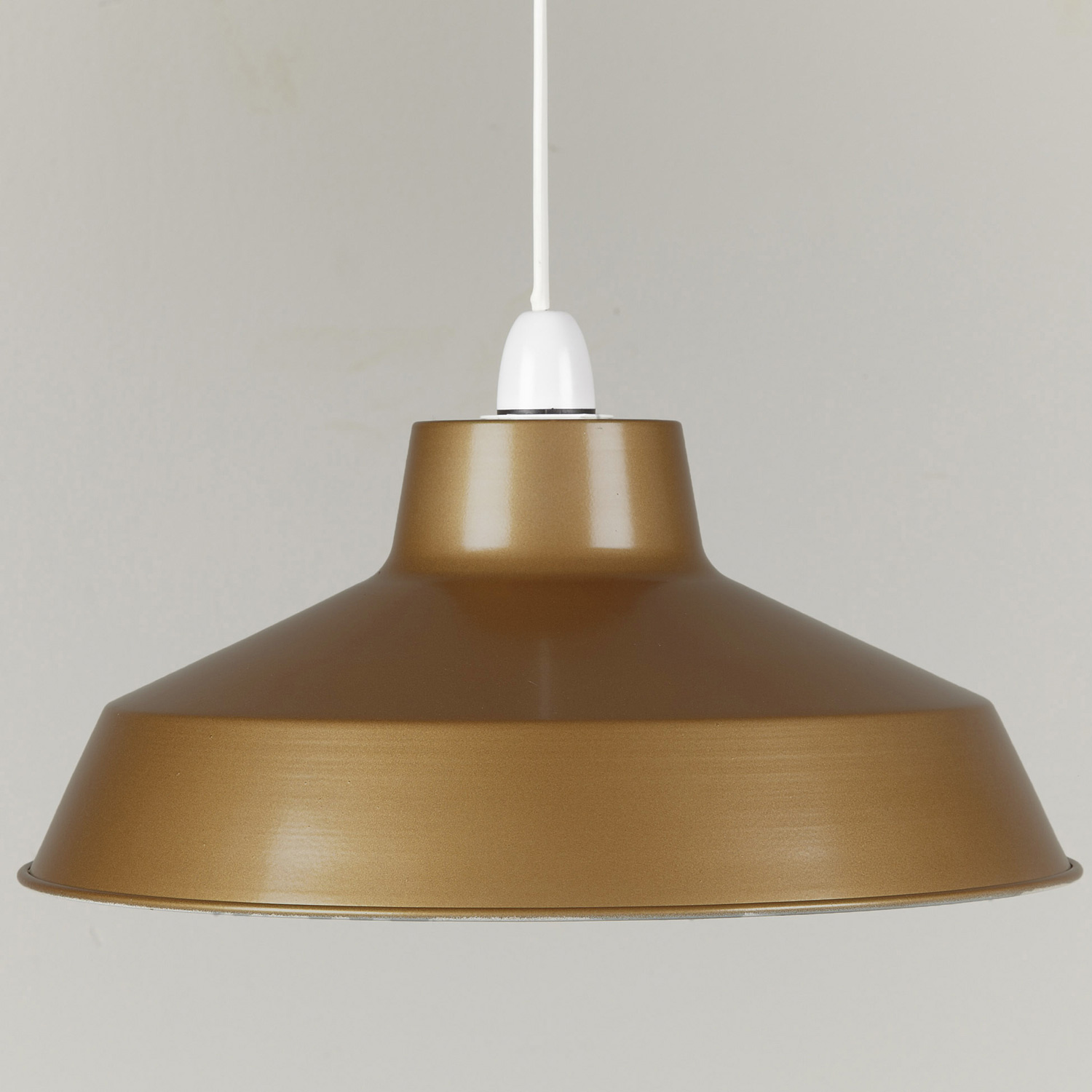 metal ceiling light shades photo - 2