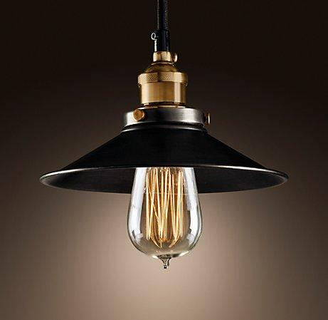 metal ceiling light shades photo - 5