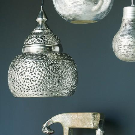 metal ceiling light shades photo - 6