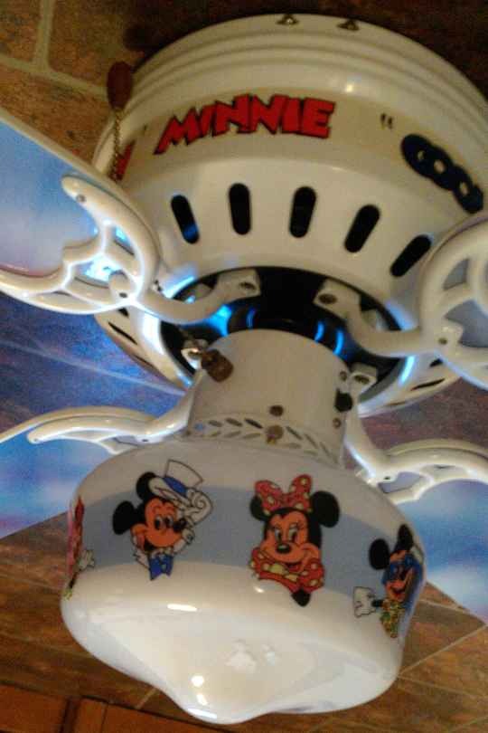Mickey Mouse Ceiling Fan See Your Room Come To Life
