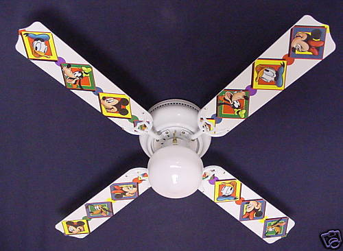 mickey mouse ceiling fan photo - 8