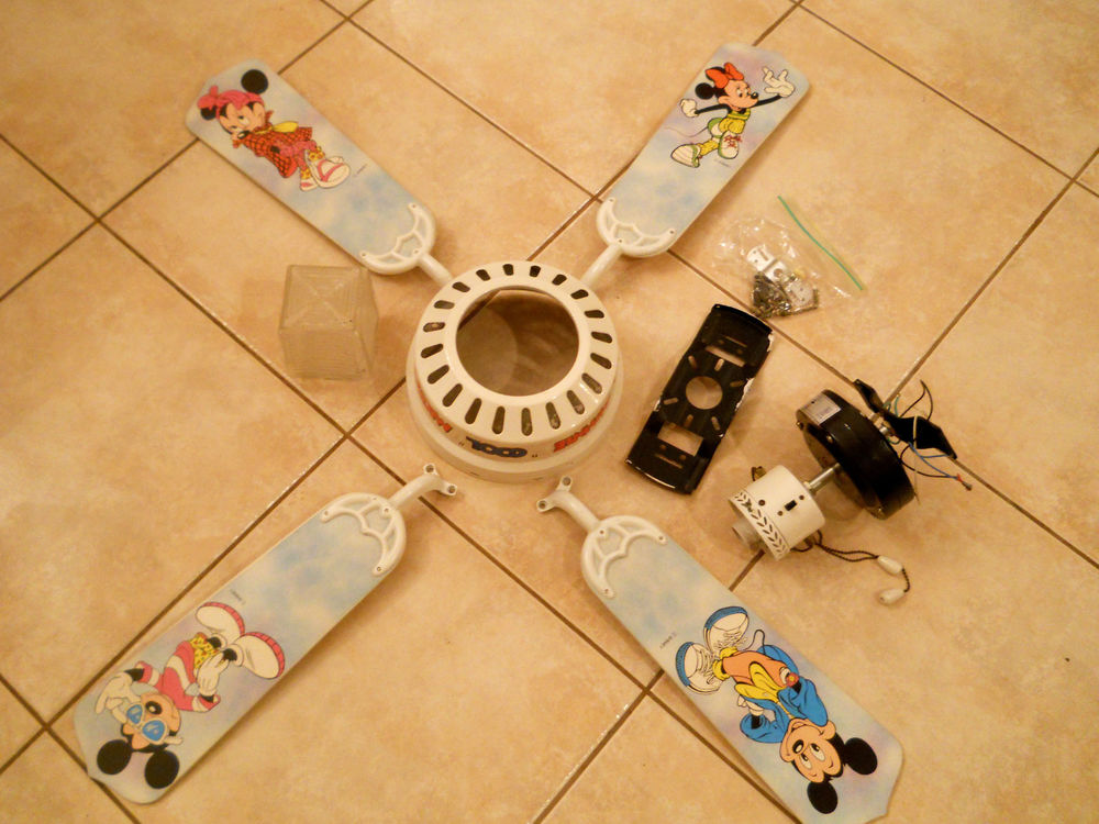 mickey mouse ceiling fan photo - 9